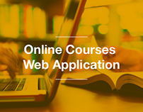 Online Course Web Application