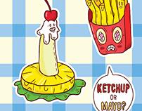 Sticker mag - GO-TAM's Deli