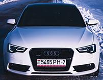 Audi A5 Winter