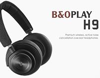 B&O Play H9 Website