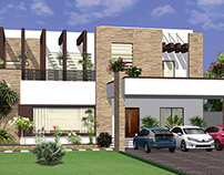 House Design For Mehood Sb At Farid Town