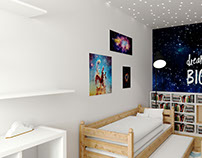 Interior render Child's Room