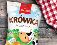 Branding and webdesign for new candies line for MIESZKO