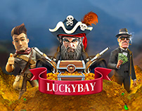 LuckyBay - Online Game Platform
