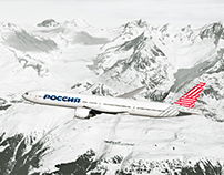 Rossiya Airlines. New brand concept