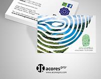 Azores GreenMark // Cartão de Visita e Flyer DL