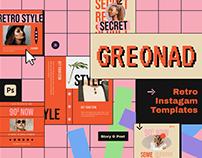 Greonad Instagram Template