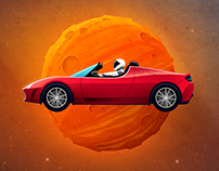 Roadster to Mars