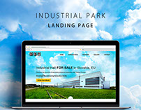 Industrial Park - Landing Page