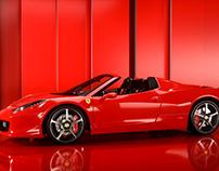 Model 3d Ferrari