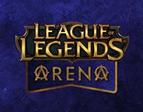 League of Legends Arena - Identité visuelle