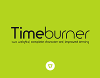 Timeburner - Free Font