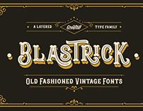 Blastrick Typeface