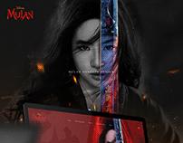 Disney Mulan Website Concept