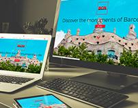 Web de monumentos de Barcelona con PHP