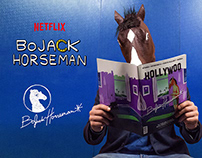 NETFLIX - BOJACK HORSEMAN Tangible Branding