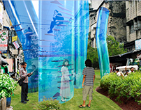 Pocket park concept (Japan 2009, with Zoha Mamun)
