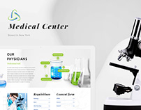 New York medical center - Website Design