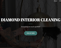 Diamond Interior Cleaning - Website Redesign