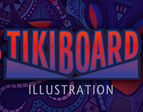 """TikiBoard"" illustration project"