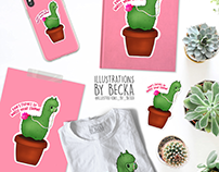 ILLUSTRATIONS_BY_BECKA - RedBubble