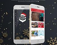 Christmas Mobile App   iOS   UX Design