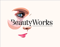 BeautyWorks • Beautician Brand identity