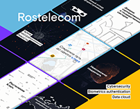 Rostelecom - New Products / Motion design Infographics