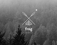 Frog - sport equipment identity