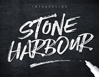 Stone Harbour Brush Font + Extras by Nicky Laatz