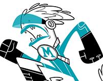 Miami Marlins themed design