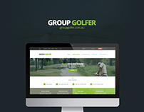 Group golfer