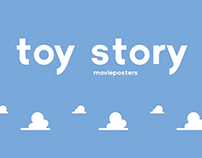 Toy Story Minimalist Movie Posters