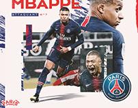 PSG x Kylian Mbappé