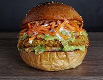 Hato wings- Burger de Quinoa - Panamá