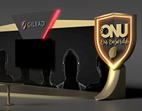 Gilead exhibition stand design