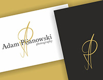 Adam Pijanowski photography: Logo Design