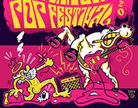 Sant Antoni Pop Festival 2020 (cartelería)