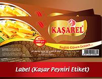 KASHAR CHEESE LABEL ( KAŞAR PEYNİRİ ETİKETİ )