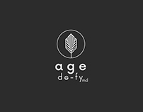Age de-fy Cosmetics. Branding & Packaging