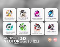 3D LOGOS BUNDLE $25