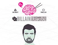 BILLAIN / flyer / venice