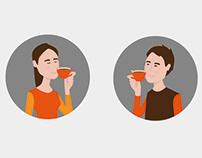 Vektorové ilustrace pro web a social media