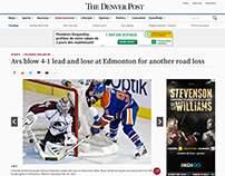 NHL: Avalanche @ Oilers (The Denver Post, 02/16/2013)
