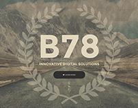 Bahur78.com - Personal portfolio website