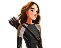 Katnis Everdeen doodle