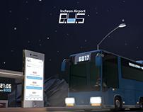 Airport Bus App