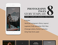 Photography Page Story Template