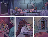 Comics // One Shot Pages