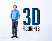 3D Figurines - Stop Motion Animation